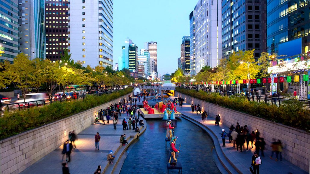 Cheonggyecheon-Stream